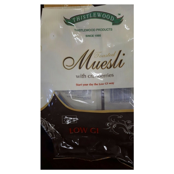 Low GI muesli