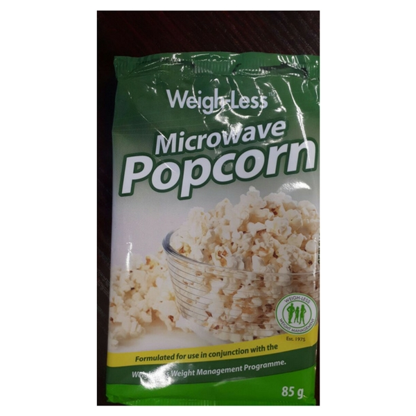 Low fat microwave popcorn