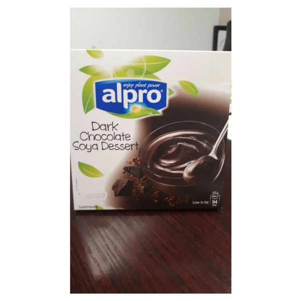 Very low fat VEGAN chocolate pudding