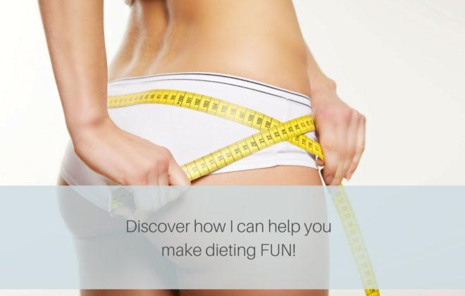 Dieting can be fun - Tabitha Hume