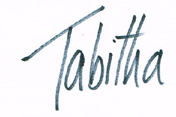 Tabitha Hume Signature