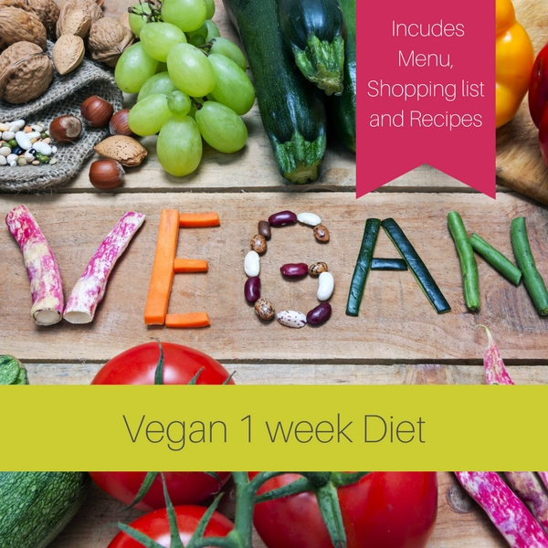 One week Vegan Diet